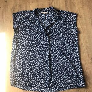 Claudia Richards🐦short sleeve blouse Petite Large